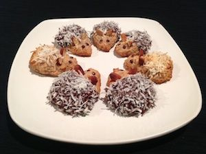 These cute little mice make a fantastic gluten free treat for the kids.      My Paleo Banana and Coconut Macaroons are slightly chewy and have a banana & coconut flavour which most kids love.Read more
