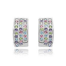 Limitada venda direta na moda mulheres Brinco Brincos Pendientes Brincos de Seta feito com Svarovski Elements(China (Mainland))
