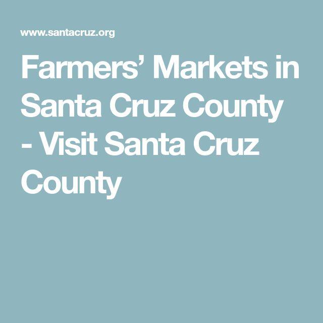 Farmers' Markets in Santa Cruz County  - Visit Santa Cruz County