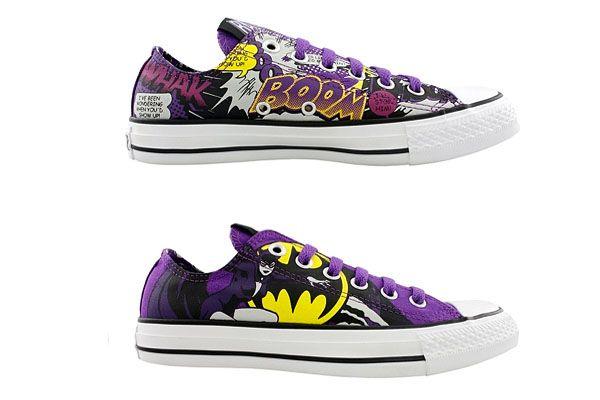 27fbfe4ddb5884 batgirl chaussures converse - Akileos