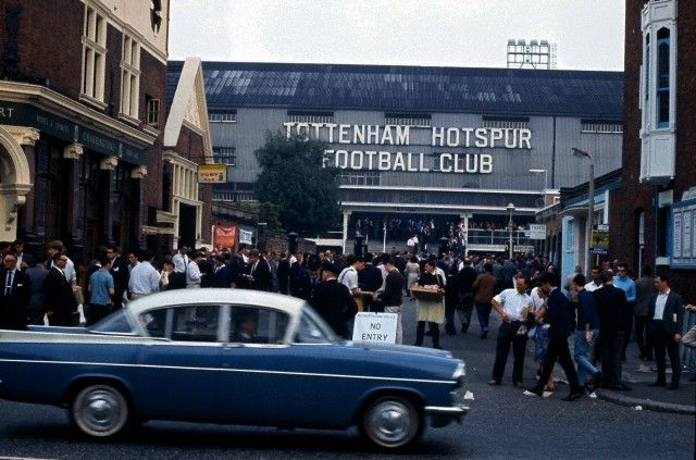 White Hart Lane, 1964.