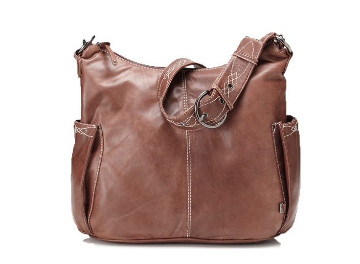 OiOi Hobo Leather Chocolate - Bonti