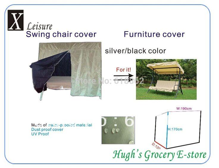 Серебряный цвет Защитная Крышка для наружного 3 места swing председатель 190 х 120 х 165 см бесплатная доставка