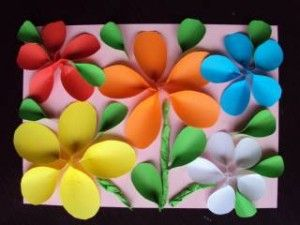 3d flowers- Could be a good use of scrap