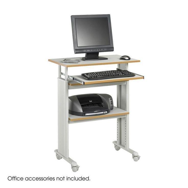Safco 1929GR Muv™ Stand-up Adjustable Height Workstation