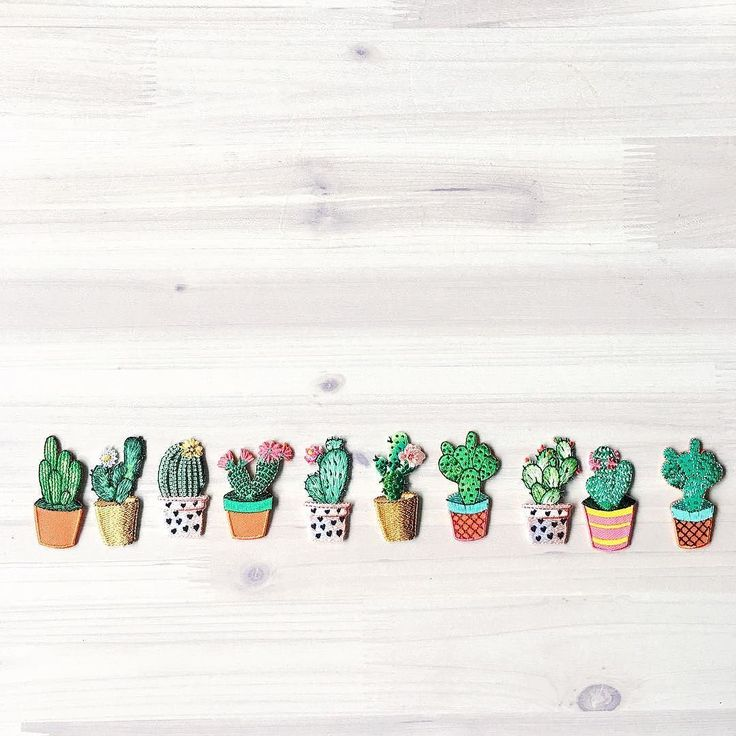 Next up on the new in list are these adorable mini cactus patches  they come in packs of two and are available in the shop now -link in bio-