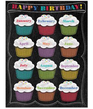 bangles silver Chalk It Up  Happy Birthday Chart  creativeteachingpress  classroomwishlist  classroomideas