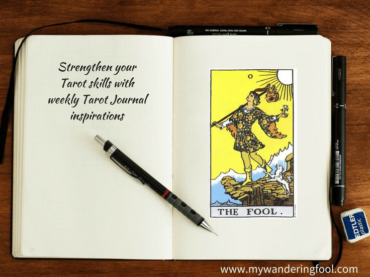Weekly Tarot Journal Inspirations