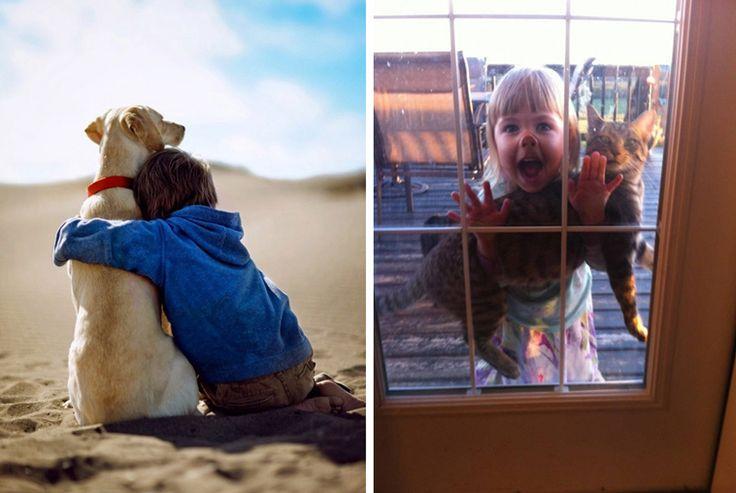 9 Ways Pets Help Raise Good, Healthy Kids [INFOGRAPHIC]