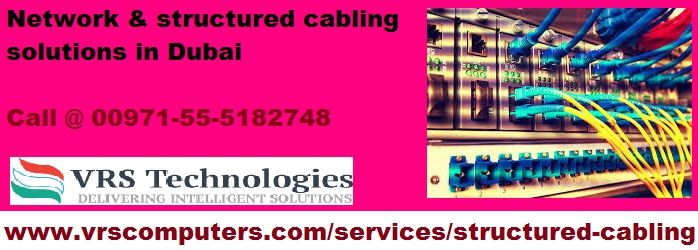 structured cabling solutions for enterprises,  VRS Technologies gives Structured Cabling Solutions in Dubai, We offers excellence in planning, design, installation, and maintenance of structured network cable infrastructure. Call us at + 971-55-5182748