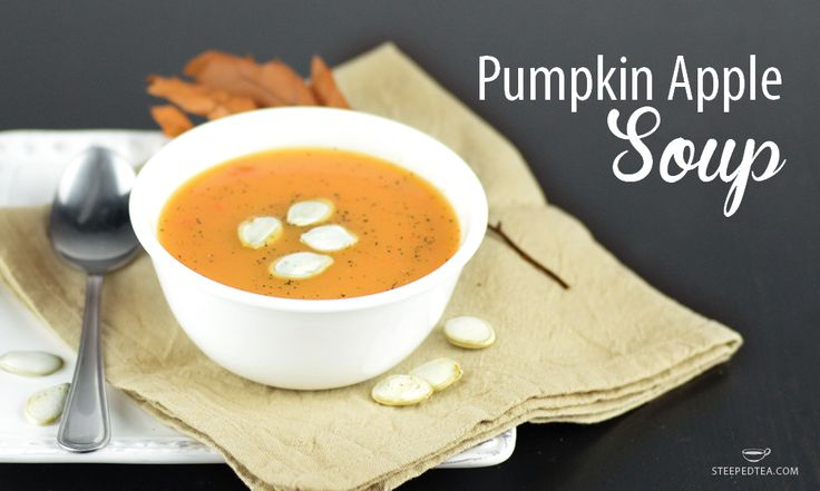 A flavorful fall soup, made with our loose leaf Harvest Spice, Black Tea.