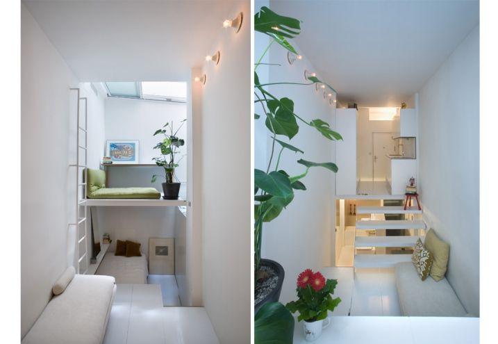 living in 21 square meters
