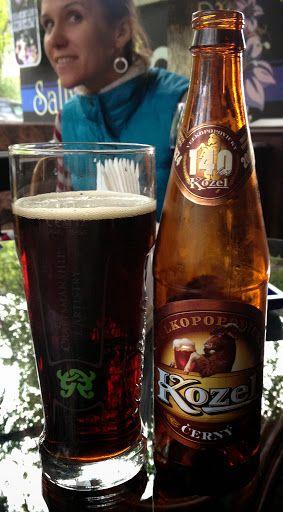 Kozel Cerny, Brewed by Pivovar Velké Popovice (SAB Miller), Czech Republic - bought in Almaty, Kazakhstan