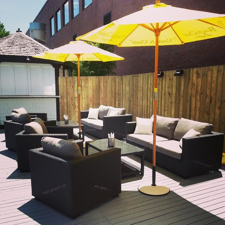 Brakish! features an indoor/outdoor location along the Charlottetown harbourfront.