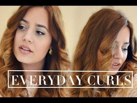•Εύκολα κυματιστά μαλλιά με σιδερο για μπούκλες - YouTube