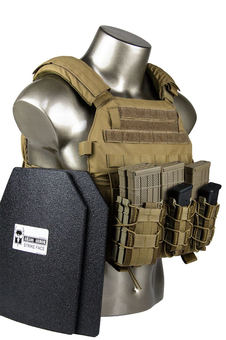 AR500 Armor® Warrior DCS Advanced Loadout Plate Carrier Package