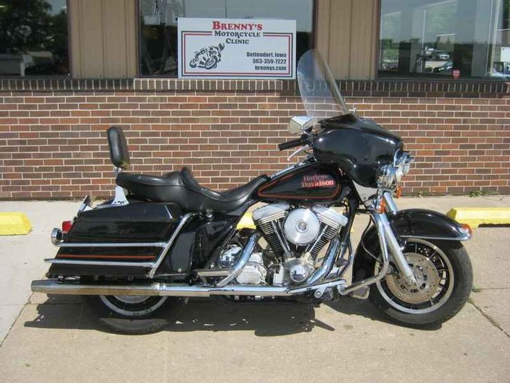Used 1990 Harley Davidson FLHS Electra Glide Motorcycles For Sale in Iowa,IA. 1990 Harley Davidson FLHS Electra Glide , Here is a good one!!! Evo powered Big Twin!! This one was taken in on trade from a long time customer, it has been owned and ridden by a 74 year old guy, ridden, not abused!! Fitted with newer Dunlop tires, both front and rear! Looking for a good condition older bike, this one is worth a look!! Each bike goes through rigorous inspection, cleaning and examination before we…