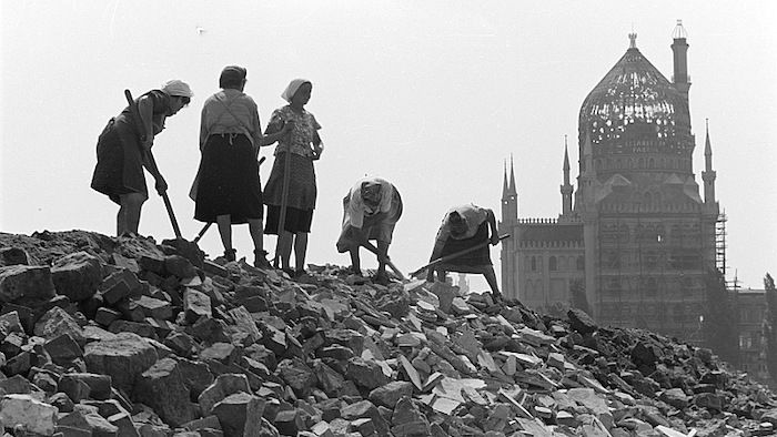 Dresda, settembre 1945.