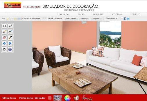 Simulador de decoração de ambientes grátis