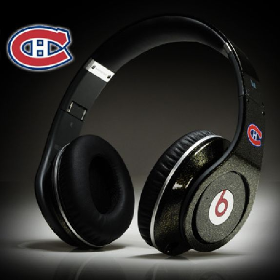 Beats By Dr.dre NHL Montreal Canadiens logo http://www.beats-soaho.us/beats-by-drdre-onear-headphones-c-1.html