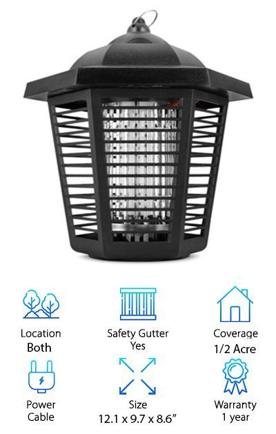 Features of Sandalwood Electronic Insect Zapper *Can be used