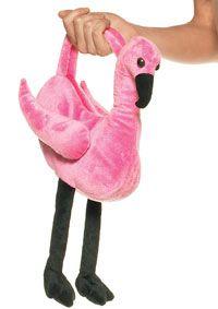 Peluche flamant rose sac - Alice au Pays des Merveilles Costumes