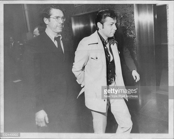 "Joseph ""Joe Sass"" Sarcinella (Born 1935) is a reputed soldier in the Genovese Crime Family. In 1975, Sarcinella was busted for running a $50 million operation for Vincent Gigante (photo)"
