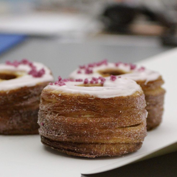 On the list of Americas Best Bakeries... NY.....Master pastry chef Dominique Ansel's eponymous SoHo bakeshop is best known as the birthplace of the Cronut, a croissant-doughnut mash-up that attracts lines of tourists every morning. There's a...