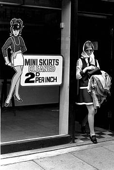 Sketchley's Dry Cleaners, Kings Road, London, 1960s.