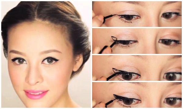 Asian look