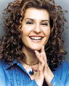 Nia Vardalos (curly greek hair:)