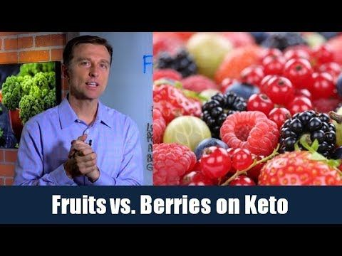 Fruits verse Berries on a Ketogenic Diet – YouTube – Dr. Eric Berg DC – 2:42