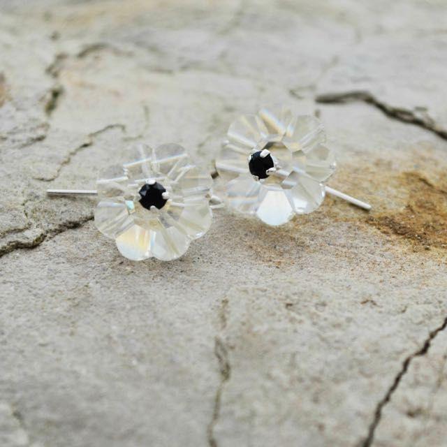 All Swarovski Flower Earrings on Carousell