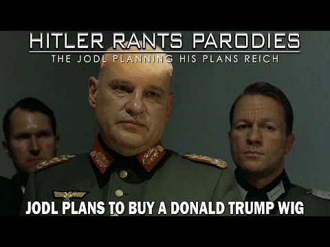Jodl plans to buy a Donald Trump wig - YouTube