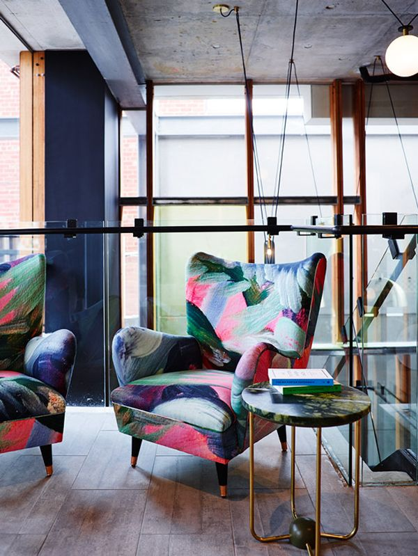 colourful armchair, Alex Hotel