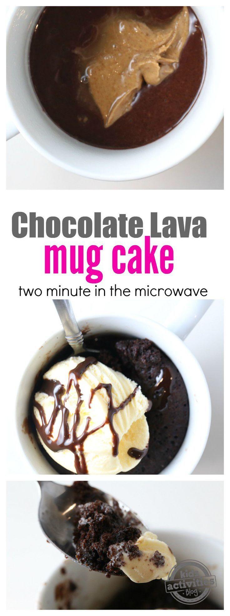 Delicious Chocolate Lava Mug Cake