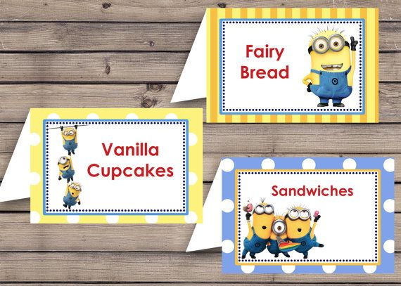 The  Best Party Food Label Template Ideas On   Diy