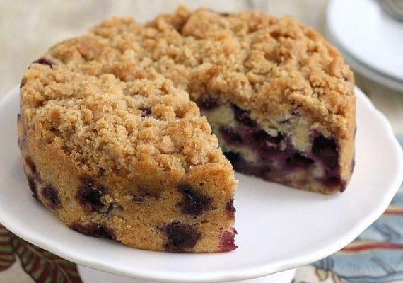 Blueberry buckle cake recipe