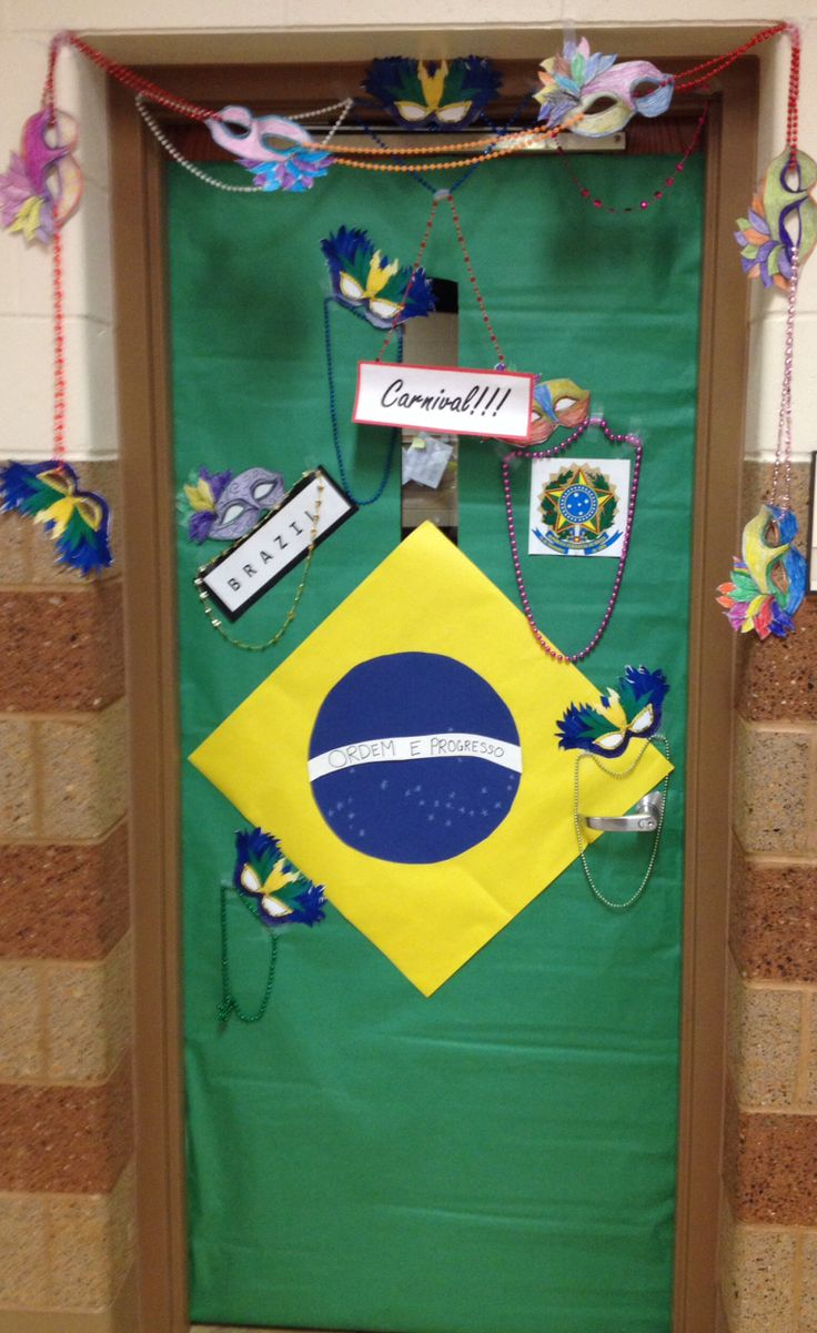 Olympic door decoration brazil katya kartysheva ana g for International theme decor