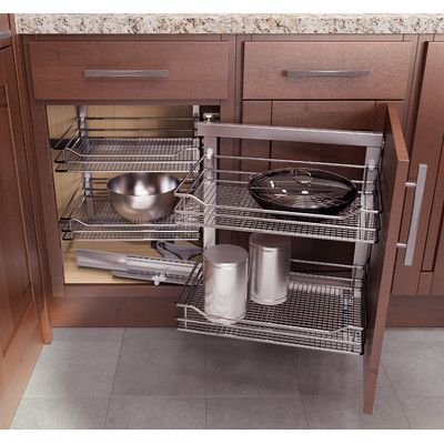 Double up your drawer space with Rev-A-Shelf's Two-Tiered drawer systems. This drawer box comes pre-assembled and ready to install into your existing cabinet drawer opening. Simply remove your current drawer and install. Features two compartments and blumotion soft close slide system.
