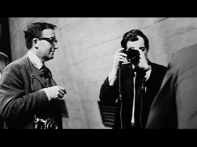 Stanley Kubrick and Peter Sellers