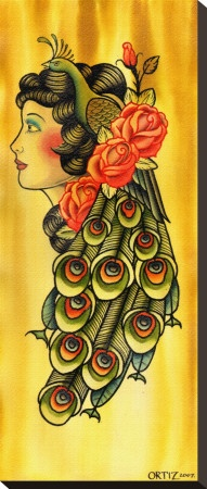 Ah, @Olga Rodriguez you know my heart! This is the prettiest pin! Can I do that to my hair?