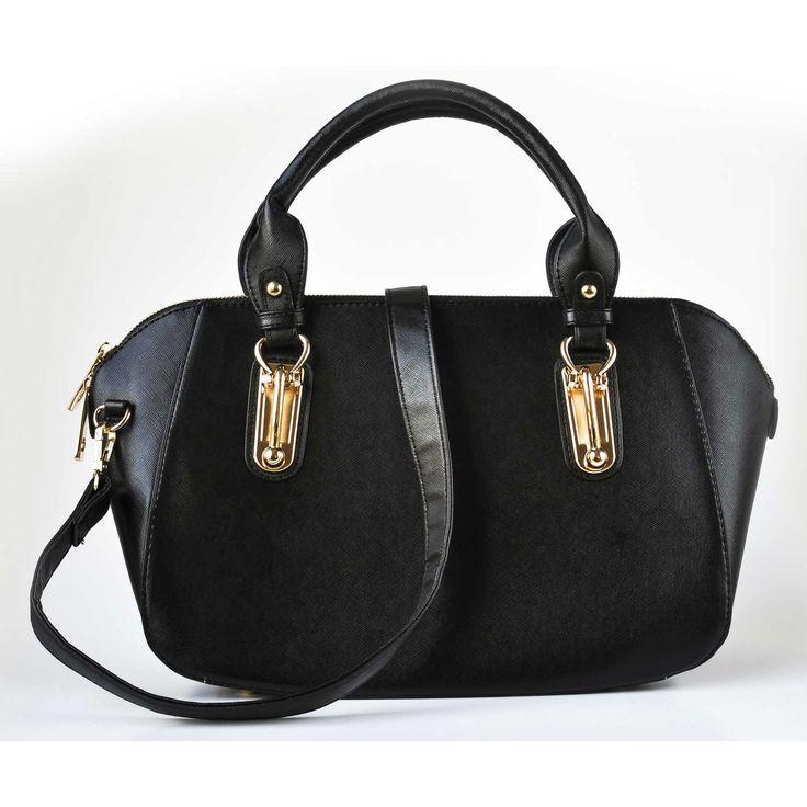 Cartera de Mujer Platanitos t-1668 Negro | platanitos.com