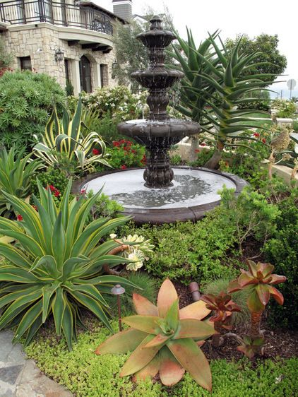 196 best front yard drought tolerant landscape images on for Drought tolerant front garden designs