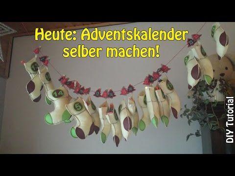 Adventskalender selber nähen - Nähen für Anfänger › Nähen für Anfänger!