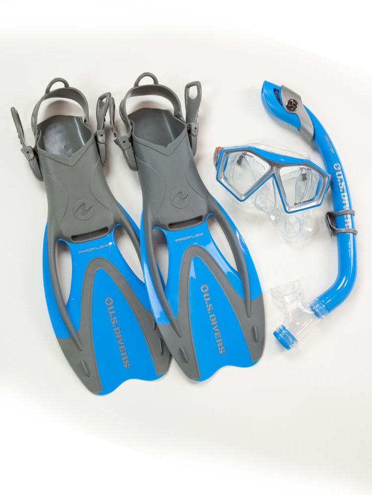 us divers snorkel gear   US Divers Coral Kids Recreational Snorkel Set