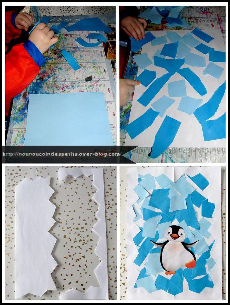 Les 10 meilleures id es de la cat gorie pingouins sur for Decoration porte pingouin