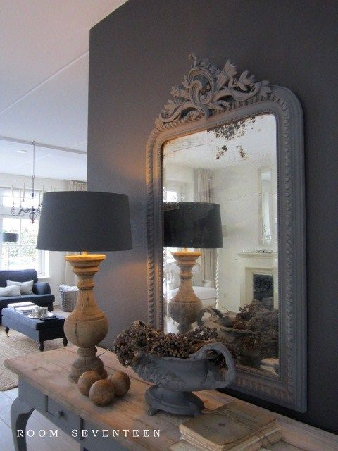 Remember a lamp in front of a mirror doubles the light!