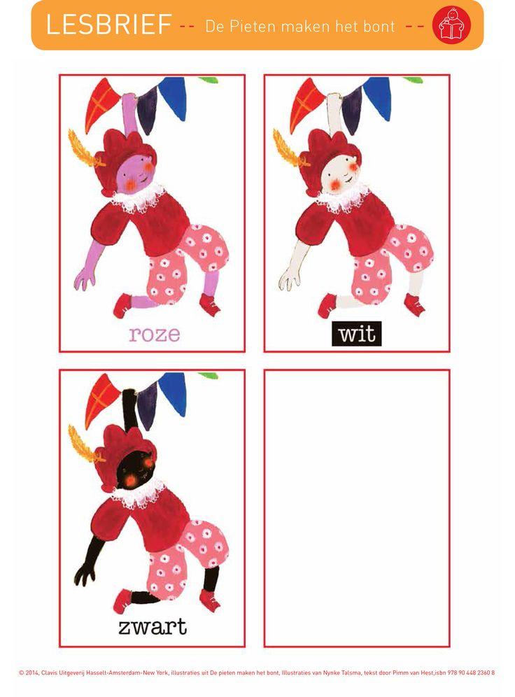 leurpieten bij 'De pieten maken het bont'  Bekijk hier de lesbrief:  http://clavisbooks.com/wosmedia/801/lbpieten_maken_het_bont.pdf