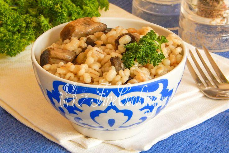 Перловка с грибами в мультиварке - рецепт с фото
